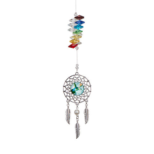 Dreamcatcher crystal art