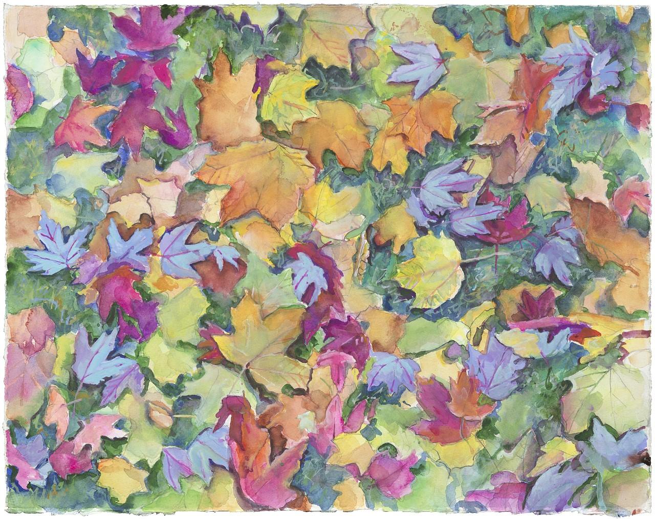 LEAVES SEPTEMber by Peggy MAcnamara