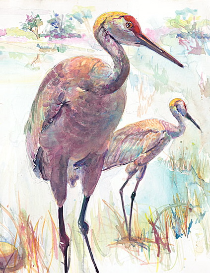 124 Cranes