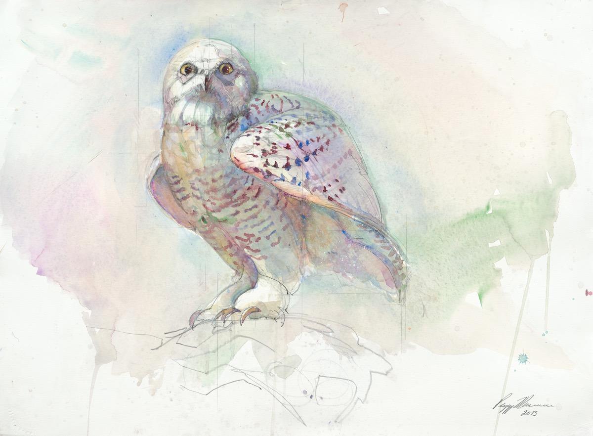 295 SNOWY OWL