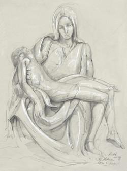 MAry Holding Jesus -Peita