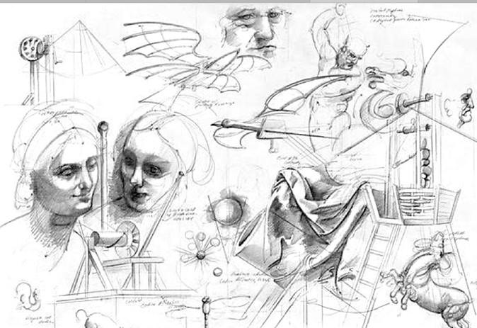 Leonardo Drawing