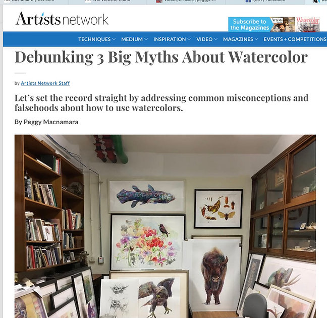 Peggy MAcnamara Artist Network article.j