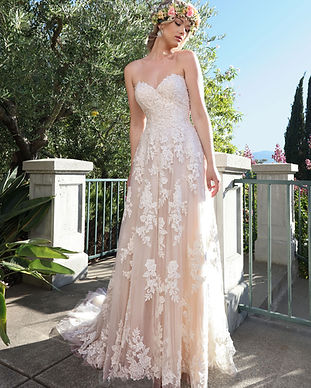 Ashley & Justin wedding dress