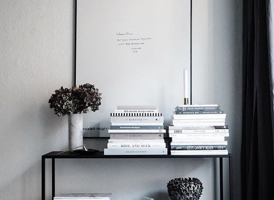 Styling 101 - Coffee Table Books