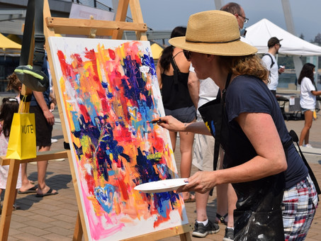 Art Masters a success in the hot August heat