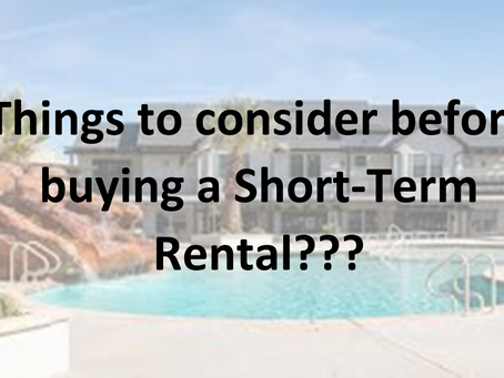 Finding the right home for your Short Term Rental investment