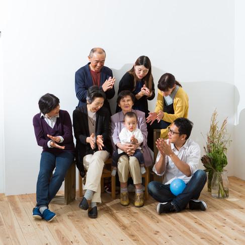 鹿児島家族写真
