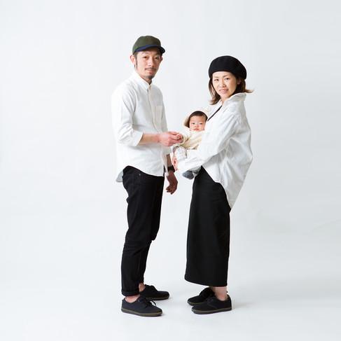 鹿児島カジュアルフォトお宮私服