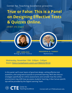 2020 Fall_CTE_Designing Quizzes & Tests.