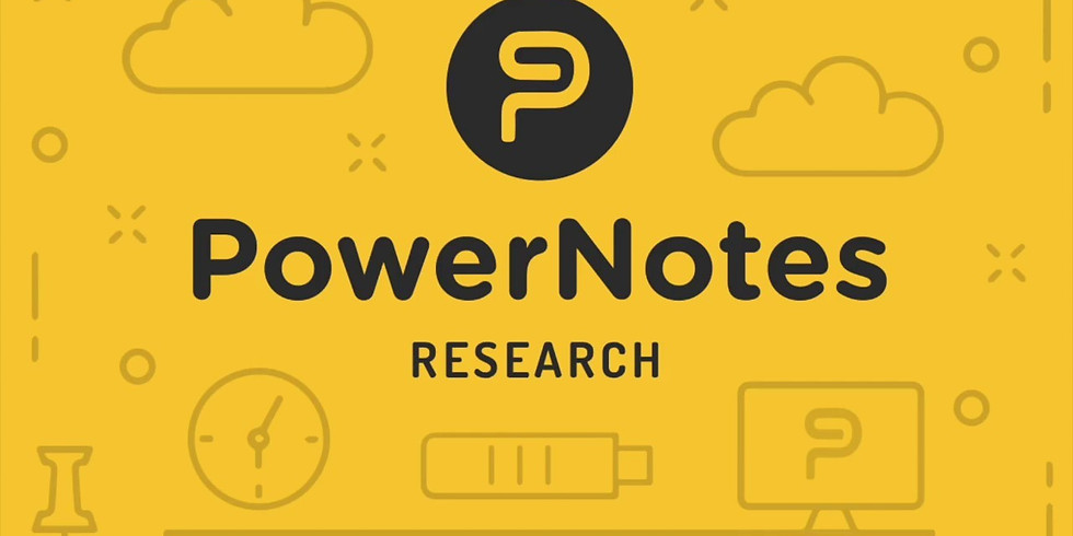 Helping Students Transition Their Research to Writing: An Introduction to PowerNotes