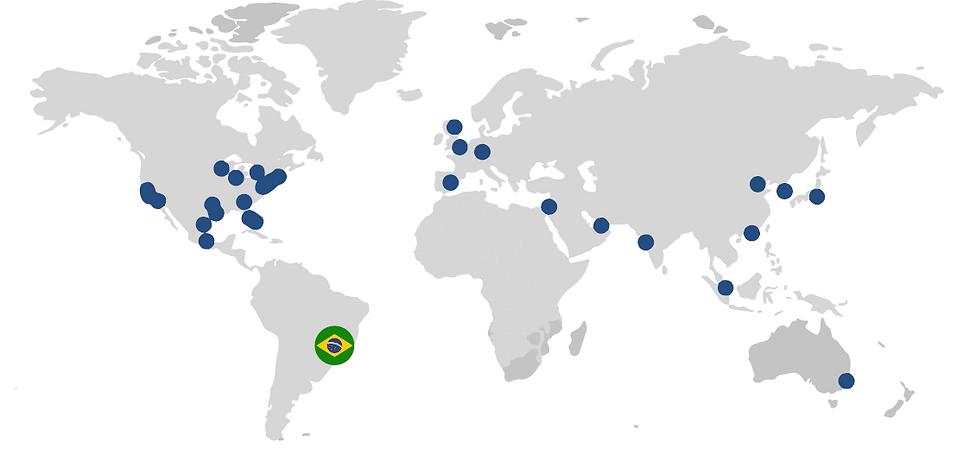 Mapa Evercore