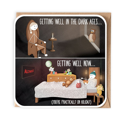DARK AGES GREETING CARD