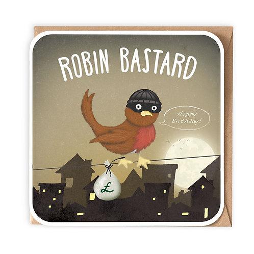 ROBIN BASTARD greeting card - CT05