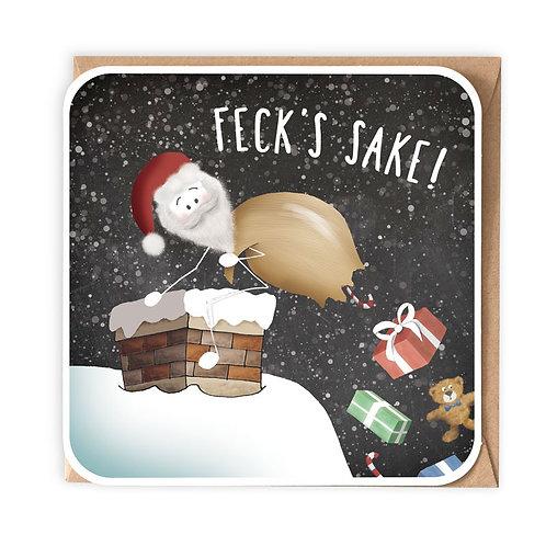 FECK'S SAKE greeting card - IXS04