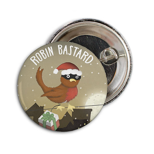 ROBIN BASTARD set of 6 badges - BB05