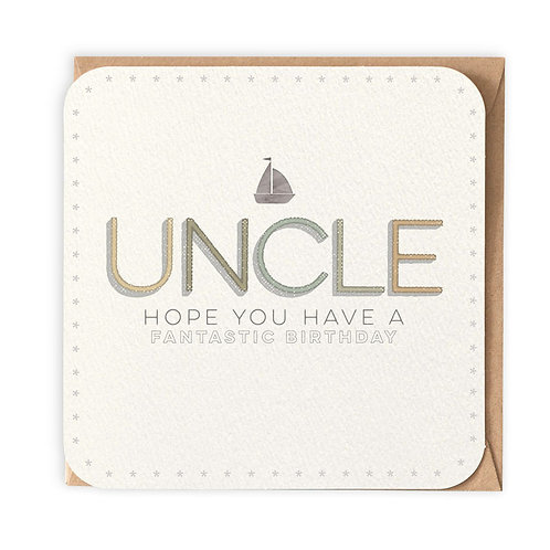 UNCLE GREETING CARD