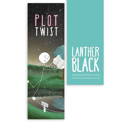 PLOT TWIST bookmark - BM07