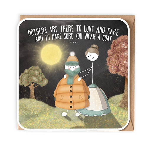 MOTHERS ARE THERE GREETING CARD