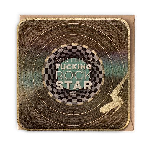 ROCK STAR greeting card -VB24