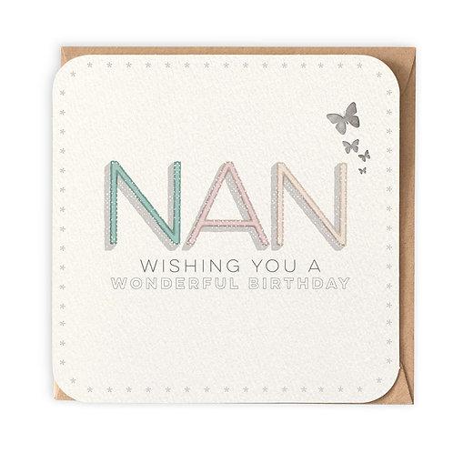 NAN GREETING CARD