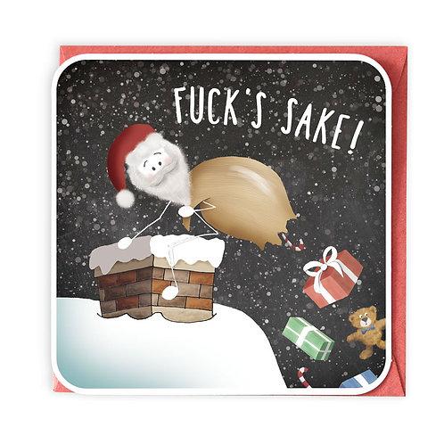 FUCK'S SAKE greeting card - XS04