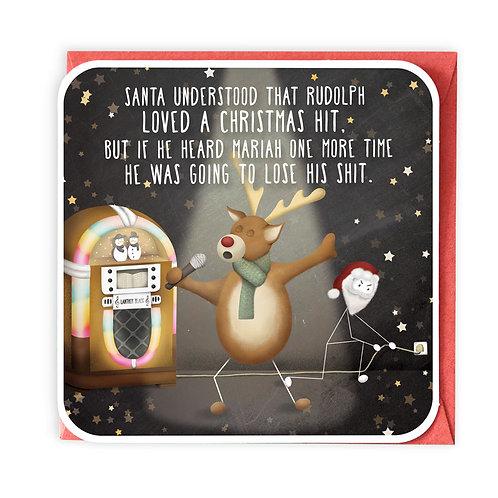 MARIAH CHRISTMAS GREETING CARD