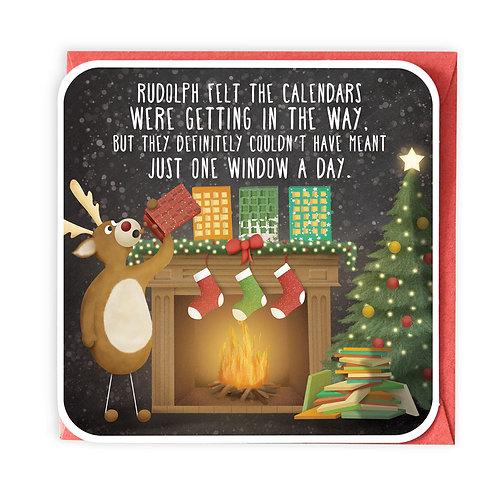 ADVENT CALENDARS CHRISTMAS GREETING CARD