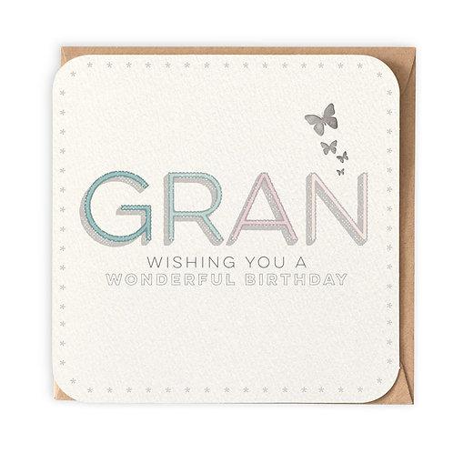 GRAN GREETING CARD