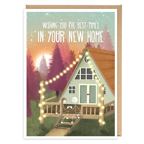 NEW HOME greeting card -WW02