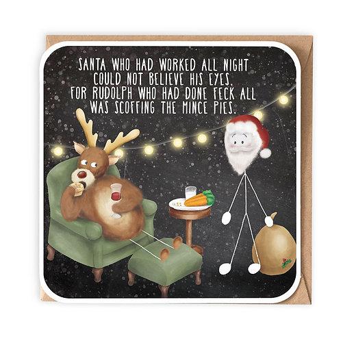 MINCE PIES (FECK) greeting card - IXS19