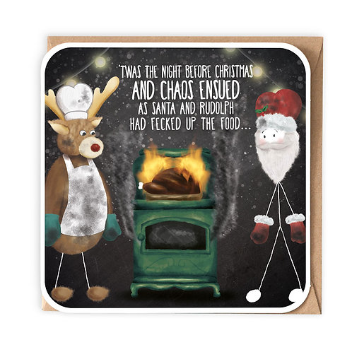 NIGHT BEFORE CHRISTMAS (FECK) greeting card - IXS18