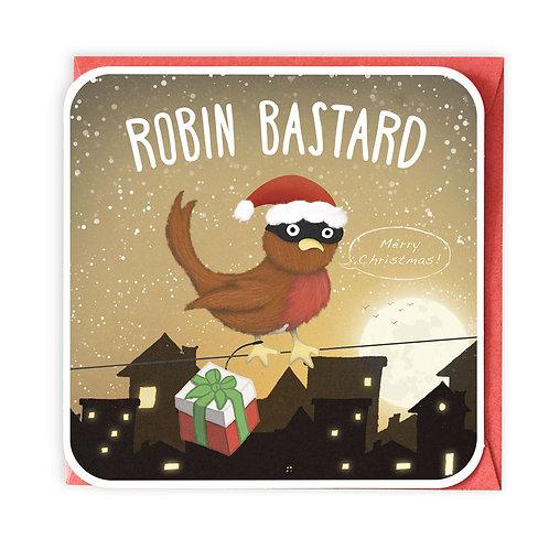 ROBIN BASTARD greeting card - XC05