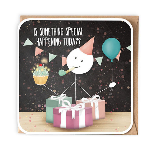 SOMETHING SPECIAL GREETING CARD