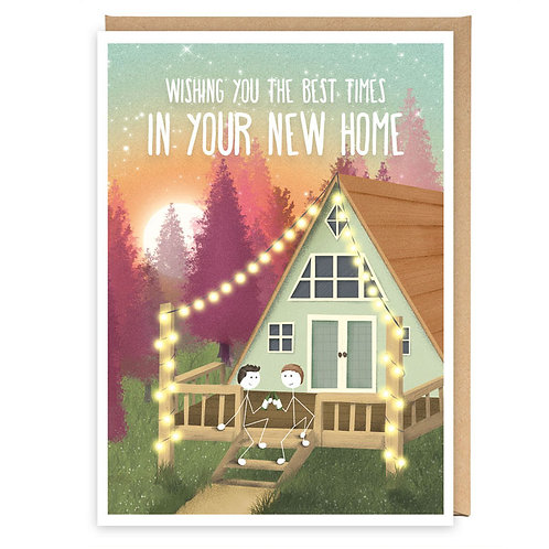BEST TIMES IN YOUR NEW HOME GREETING CARD