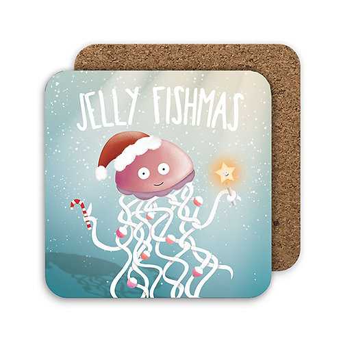 JELLY FISHMAS COASTER