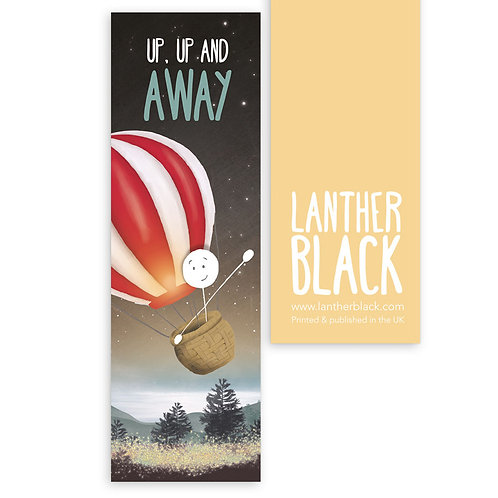 UP, UP AND AWAY bookmark - BM08