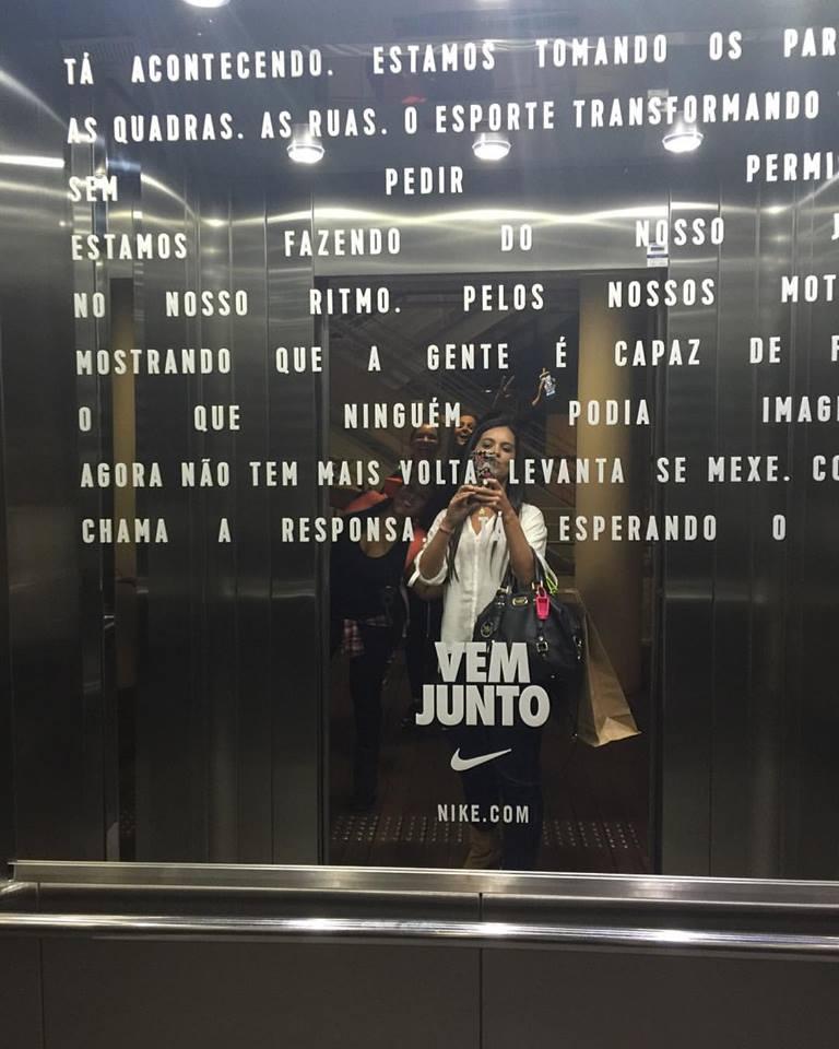 """""""Vem Junto"""" Nike"""