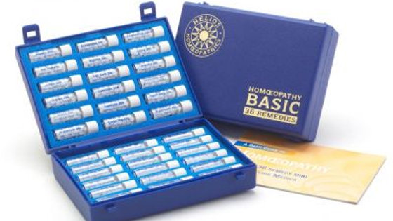 Homeopathy Basic Kit- 36 Remedies