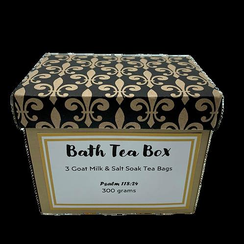 Bath Tea Box