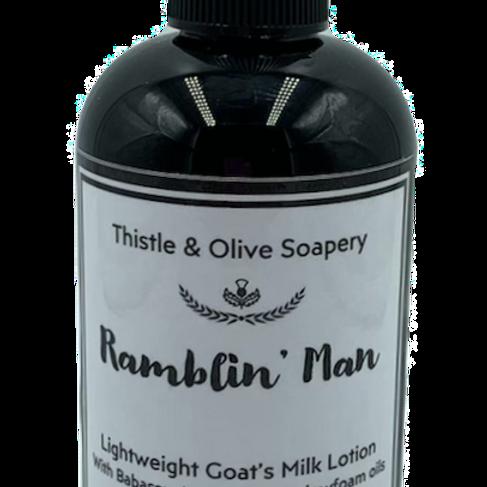 Ramblin Man Goat's Milk Lotion