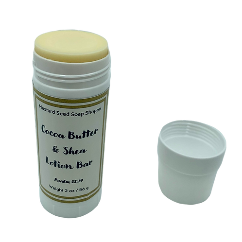 Cocoa Butter and Shea Lotion Bar