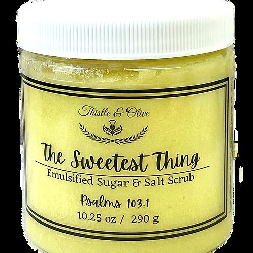The Sweetest Thing Sugar Scrub