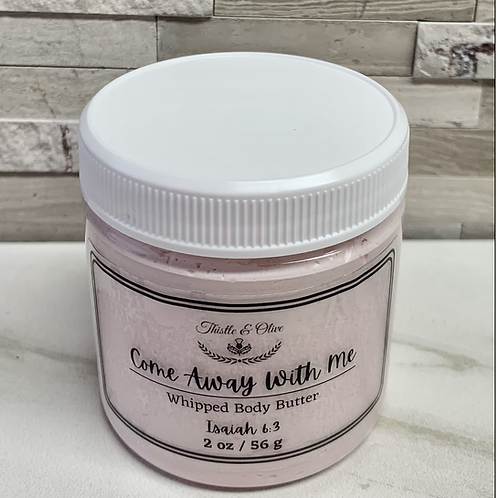 Come Away With Me Whipped Body Butter