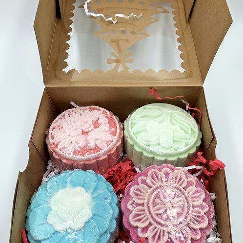 Four Bath Bomb Gift Box