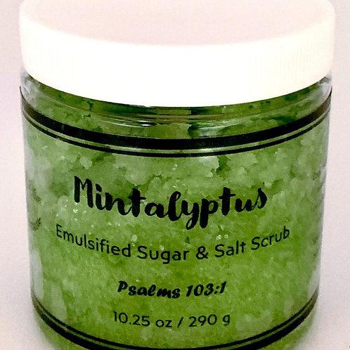 Mintalyptus Emulsified Sugar Scrub