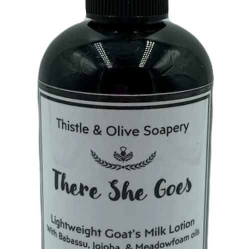 There She Goes Goat's Milk Lotion