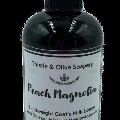 Peach Magnolia Goat's Milk Lotion