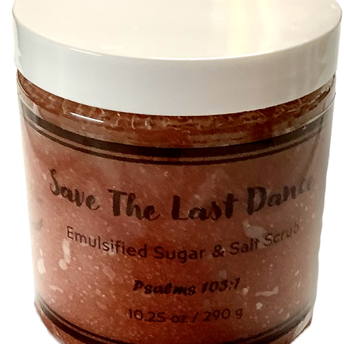 Save The Last Dance Sugar Scrub