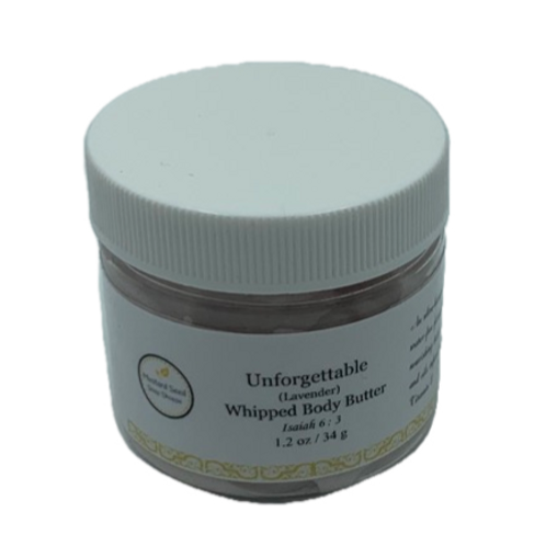 Unforgettable Whipped Body Butter